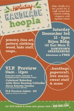 Holiday Handmade Hoopla